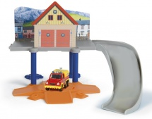"""Маленький пожарный гараж Simba """"Пожарный Сэм"""" с машинкой"""