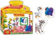Мягкие магниты Vladi Toys Ферма