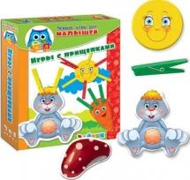 Прищепочки Vladi Toys Зайка