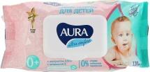 Влажные салфетки Аура Ultra Comfort 120шт