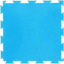 Массажный коврик Орто Трава жесткий 25x25 см, голубой