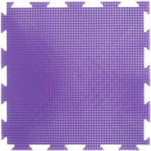 Массажный коврик Орто Трава жесткий 25x25 см, фиолетовый