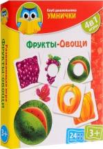 Игра Vladi Toys Умнички. Фрукты и овощи