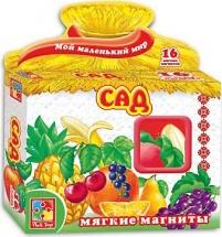 Мягкие магниты Vladi Toys Сад