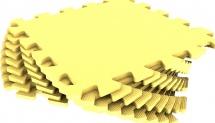 Мягкий пол универсальный Pol-par 33x33 см 9 дет, желтый