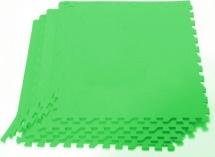 Мягкий пол универсальный Pol-par 60х60 см 4 дет, зеленый