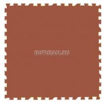 Мягкий пол универсальный, 33x33 см., коричневый , Pol-par
