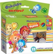 """Магнитный театр """"Фиксики"""", зеленая коробка, Vladi Toys"""
