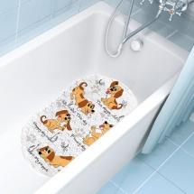 """Коврик для ванны Valiant """"Собачки"""" 69х39 см"""