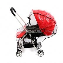 """Дождевик для коляски с перекидной ручкой """"Universal"""", Baby care"""