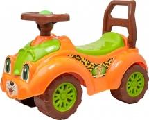 Каталка Технок Автомобиль для прогулок, оранжевый
