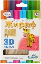 """Набор для лепки Origami """"Дикие животные. 3D"""""""