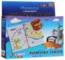 "Мозаика с аппликацией ""Пиратская сказка"", TotoШка"