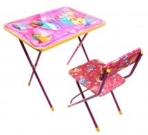 """Набор мебели Ника """"Маленькая принцесса"""" КП2/17"""