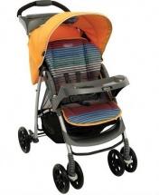 Коляска прогулочная Mirage + W Parent tray and boot, Jaffa stripe (оранжевый), Graco