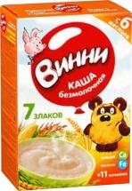 Каша Винни безмолочная 7 злаков с пребиотиками с 7 мес 220 г