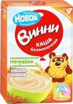 Каша Винни безмолочная гречневая с пребиотиками с 4 мес 200 г