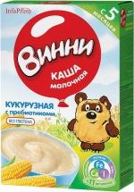 Каша молочная Кукурузная с пребиотиками с 5 мес., 220 гр., Винни