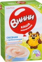 Каша Винни молочная овсяная с пребиотиками с 5 мес 220 г