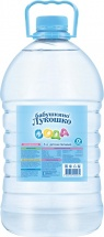Вода детская Бабушкино лукошко 5 л