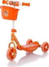 Самокат Baby Care Wheel Scooter оранжевый