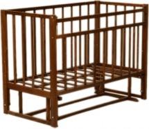 Кроватка ВДК поперечный маятник, темный орех