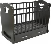 Кроватка ВДК Orso поперечный маятник с ящиком, венге