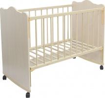 Кроватка Мир колибри Колибри Классик-4, дуб молочный