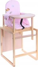 Стул-стол Вилт Алекс, розовый