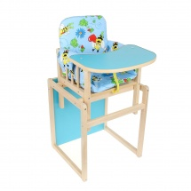 "Стул-стол ""Колибри"", голубой, Мир колибри"