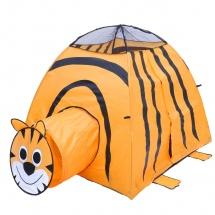 """Палатка """"Тигр"""", с туннелем, Оранжевый"""