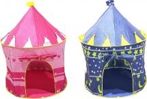 Палатка Шатер, розовый / синий