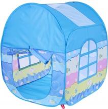 Палатка Домик у моря, голубой