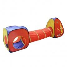 """Палатка """"Цветные фигуры"""", с туннелем, SumyCat"""