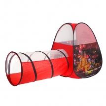 """Палатка """"Ночной город"""", с туннелем, Красный"""