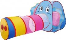 Палатка Веселый слоник, с туннелем
