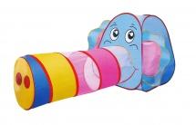"""Палатка """"Веселый слоник"""", с туннелем, Yongiia"""