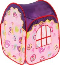 Палатка Алфавит, фиолетовый-розовый