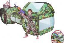 Палатка Секретный объект, с туннелем