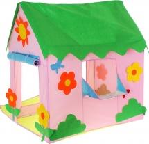 Палатка Домик с цветочками
