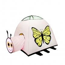 "Палатка ""Бабочка"", с туннелем"