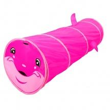 """Детский туннель """"Дельфин"""", Розовый"""