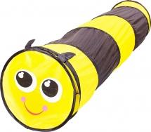 Детский туннель Пчелка, черно-желтый