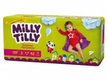 Подгузники Milly Tilly дневные 3 (4-9 кг) 42 шт