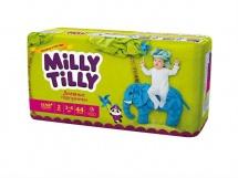 Подгузники Milly Tilly дневные 2 (3-6 кг) 44 шт