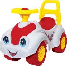 """Каталка """"Автомобиль для прогулок"""", бело-красный, Технок"""