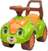 Каталка Технок Автомобиль для прогулок, зеленый