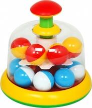 Юла-карусель Стеллар с шариками