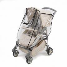Дождевик для прогулочной коляски, с окошком, Baby care