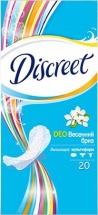 Прокладки женские ежедневные Discreet Deo Spring Breeze Multiform 20шт
